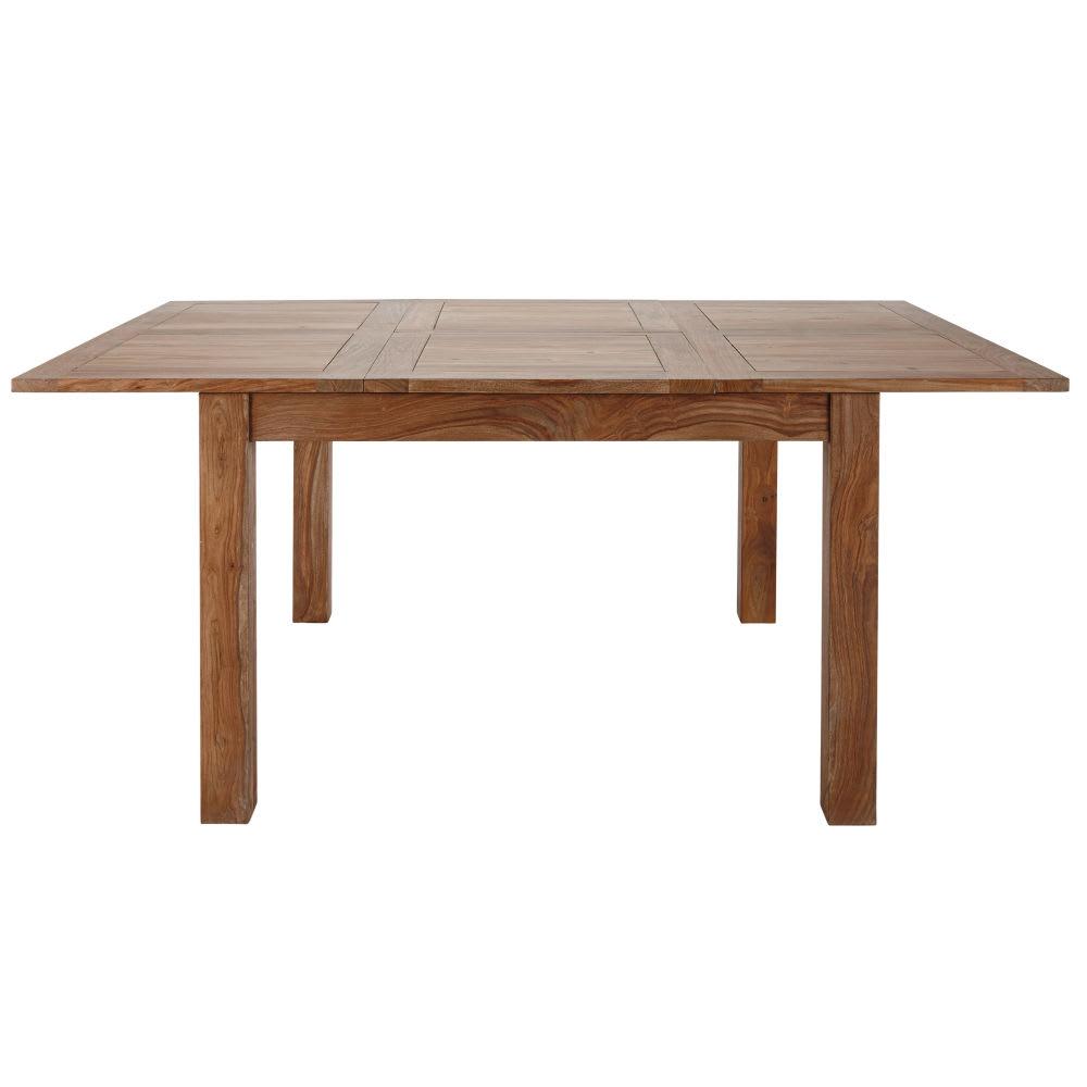 table manger extensible 8 10 personnes en sheesham l130 190 stockholm maisons du monde. Black Bedroom Furniture Sets. Home Design Ideas