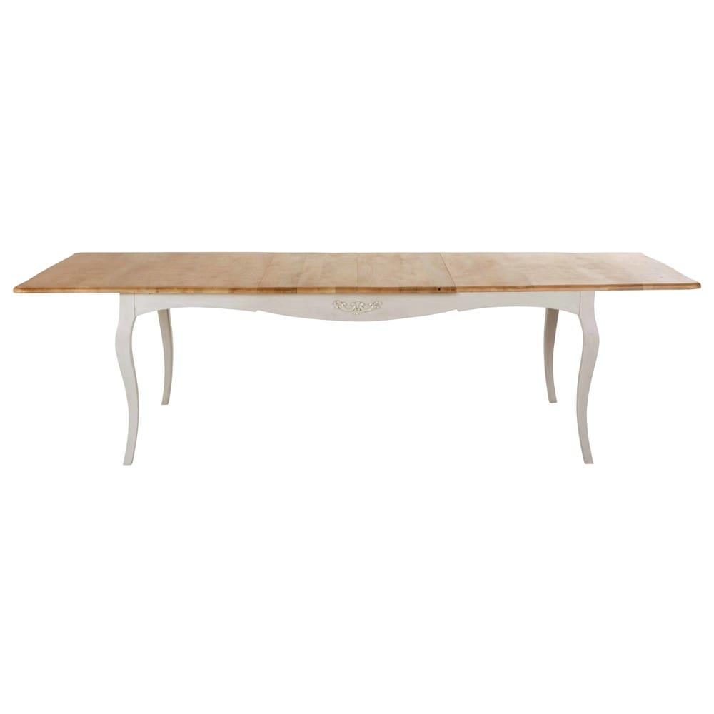 table manger extensible 8 12 personnes en manguier massif l200 280 castel maisons du monde. Black Bedroom Furniture Sets. Home Design Ideas