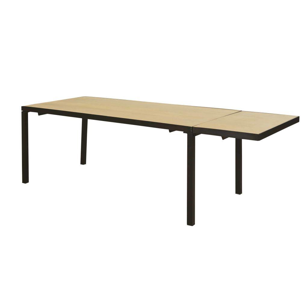 table manger extensible en manguier massif 8 12. Black Bedroom Furniture Sets. Home Design Ideas