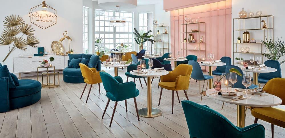 table manger professionnelle en marbre et m tal d70 nina. Black Bedroom Furniture Sets. Home Design Ideas
