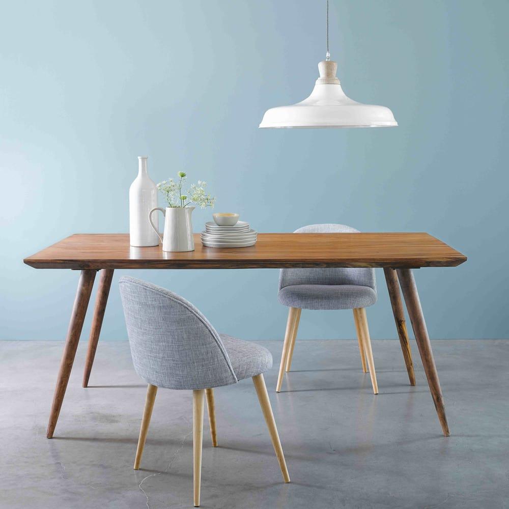 table manger vintage en sheesham massif 8 personnes l175 andersen maisons du monde. Black Bedroom Furniture Sets. Home Design Ideas