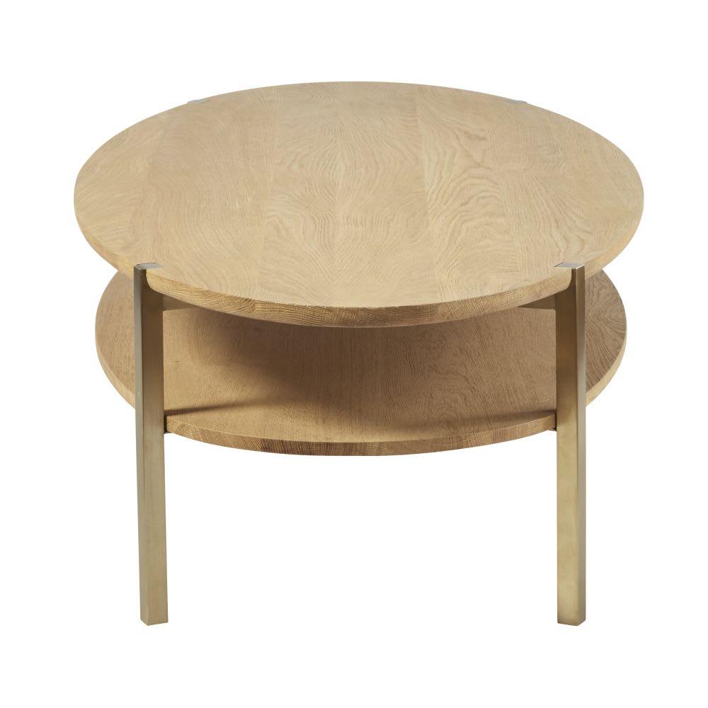 Table basse ovale 2 plateaux Karla | Maisons du Monde