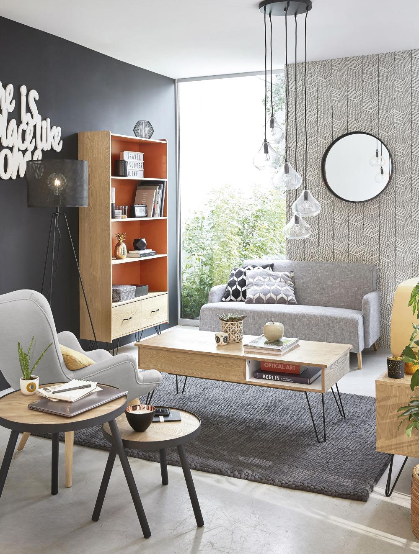 table basse vintage twist maisons du monde. Black Bedroom Furniture Sets. Home Design Ideas