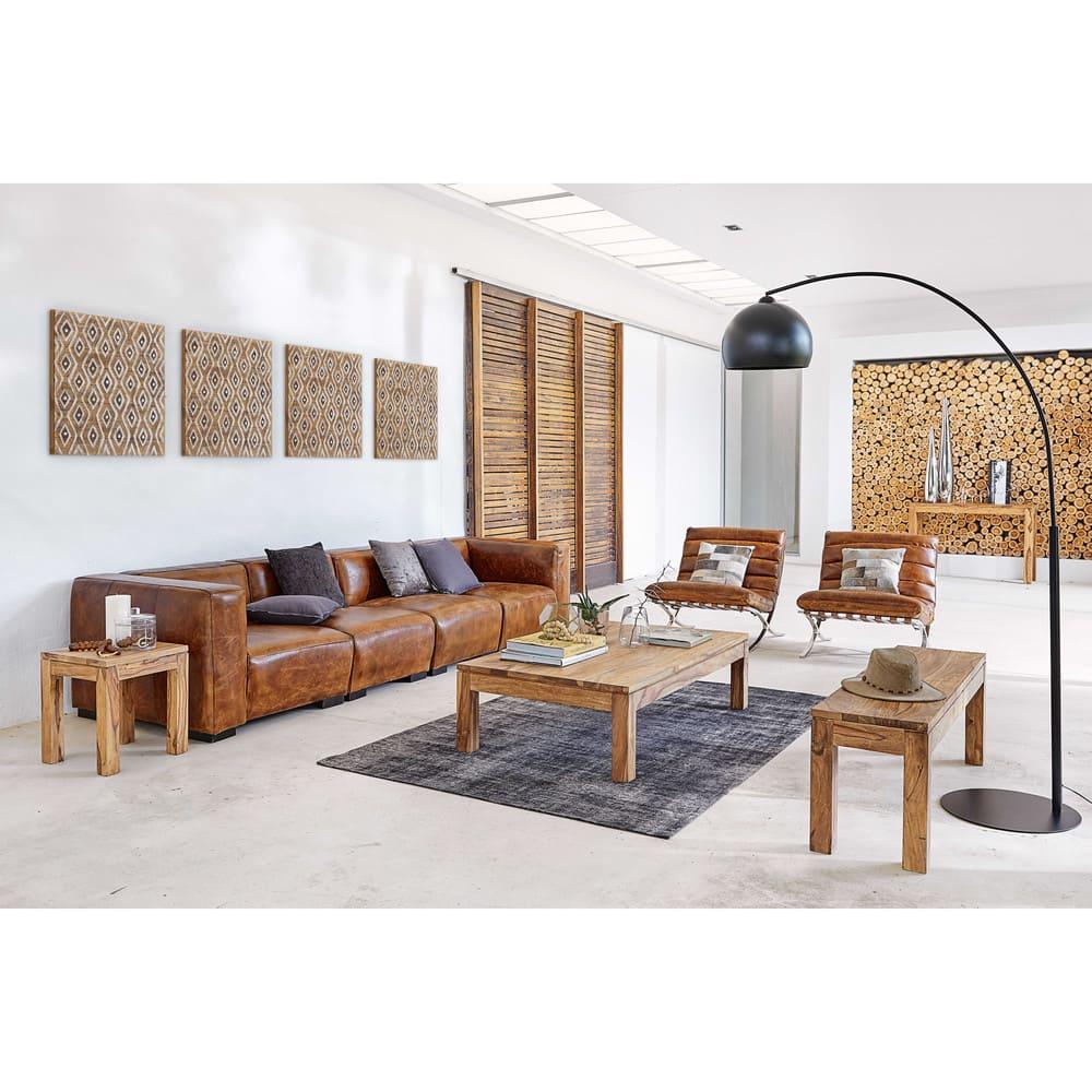 table console en bois de sheesham massif l120 stockholm. Black Bedroom Furniture Sets. Home Design Ideas