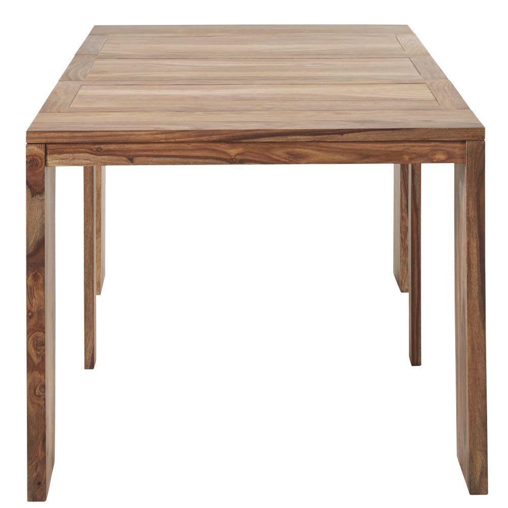 Table Console Extensible En Sheesham Massif 26 Personnes L40160