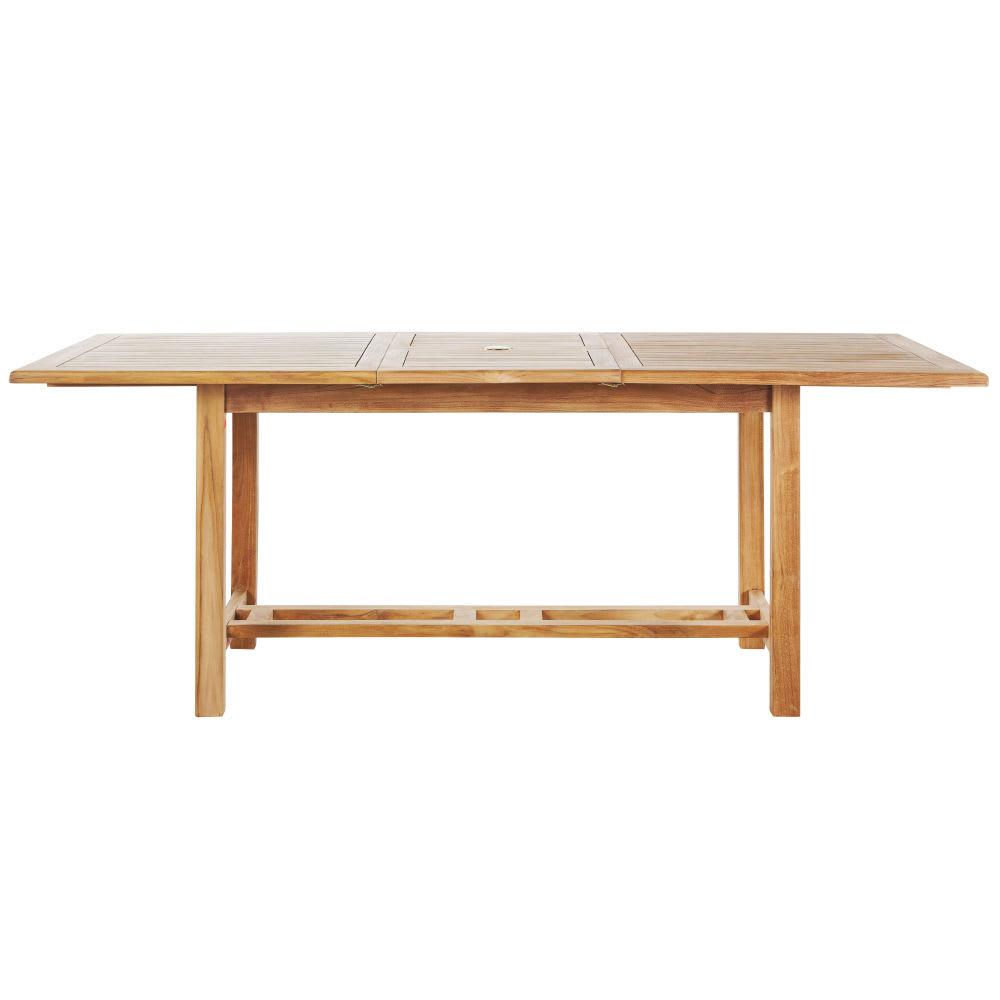 Table de jardin en teck massif L150 Oléron | Maisons du Monde