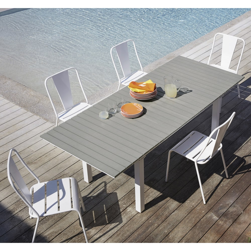 Table De Jardin Extensible Aluminium