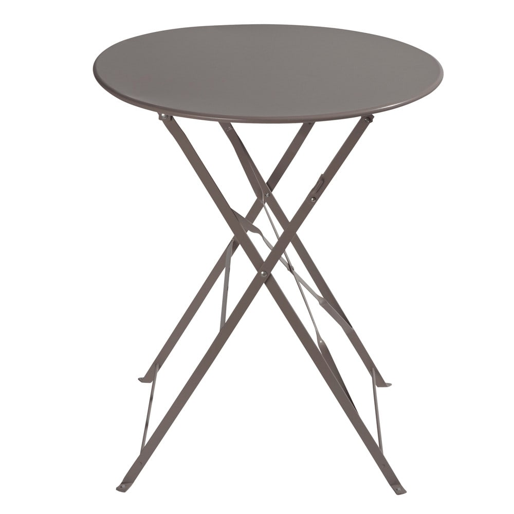 Table jardin teck pliante - catalogue 2019 - [RueDuCommerce - Carrefour]
