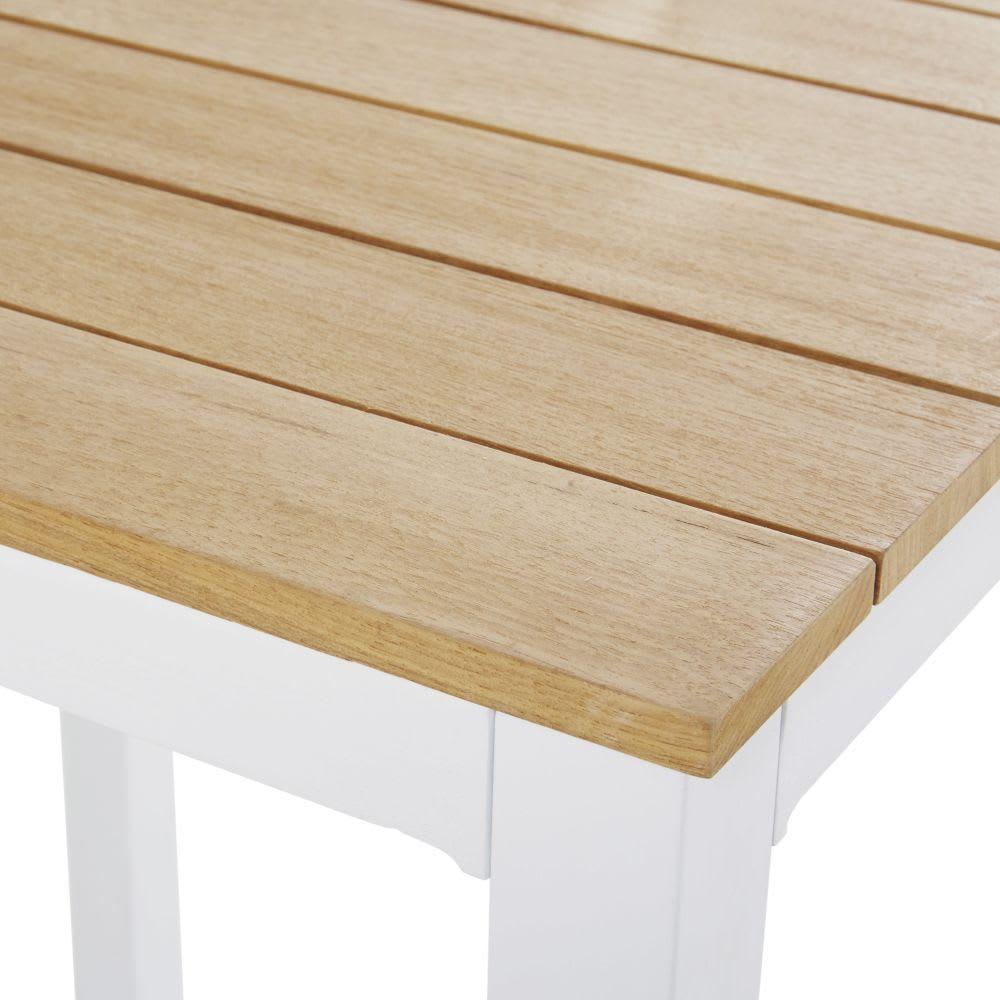 Table haute de jardin professionnelle en teck L75 Regate Pro ...