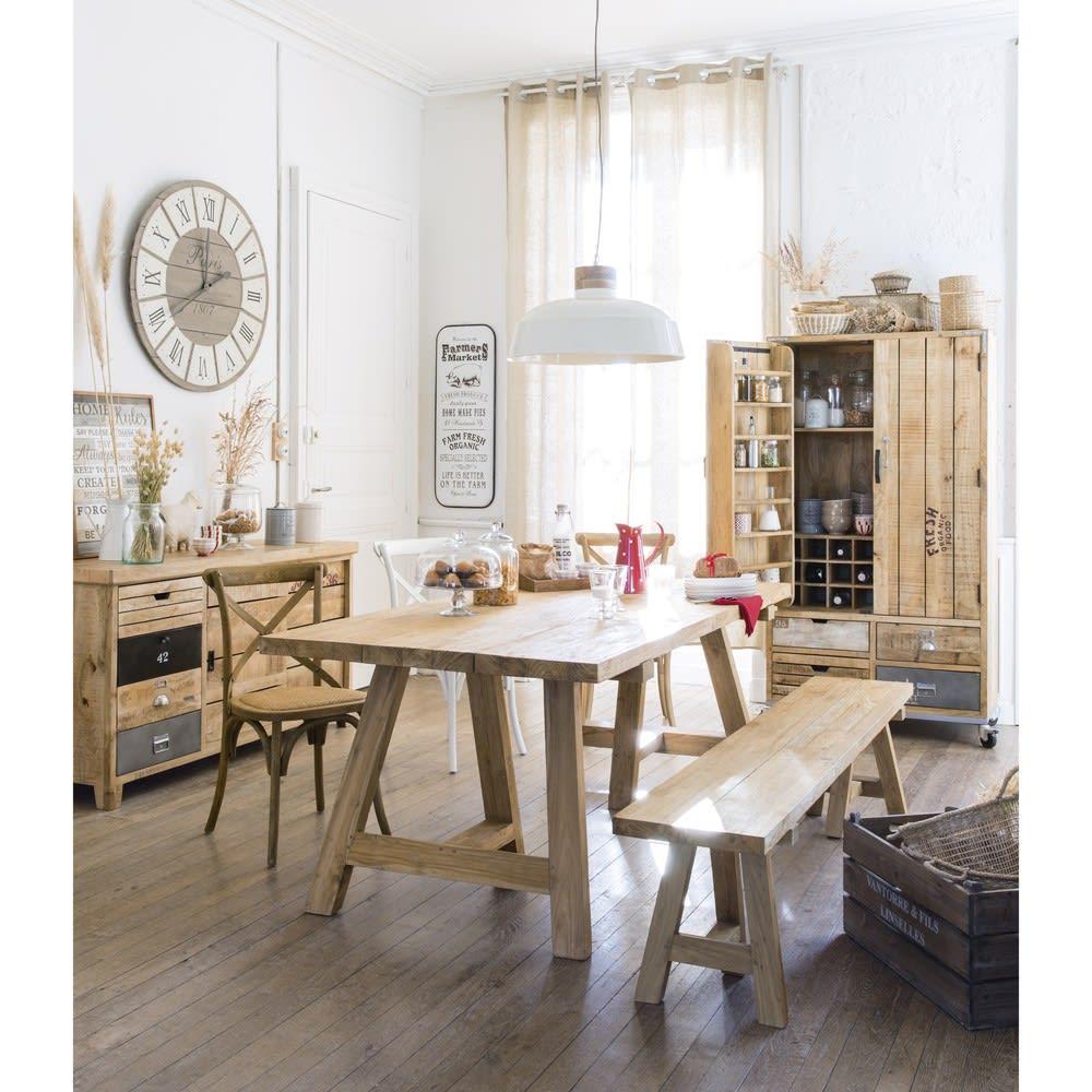 tableau en bois 50 x 65 cm home rules maisons du monde. Black Bedroom Furniture Sets. Home Design Ideas