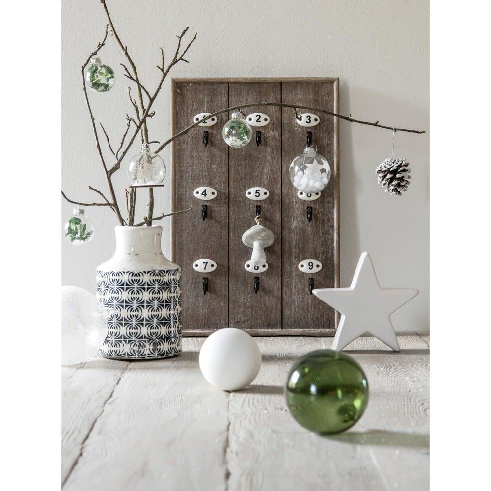 tableau porte cl s en bois slow home maisons du monde. Black Bedroom Furniture Sets. Home Design Ideas