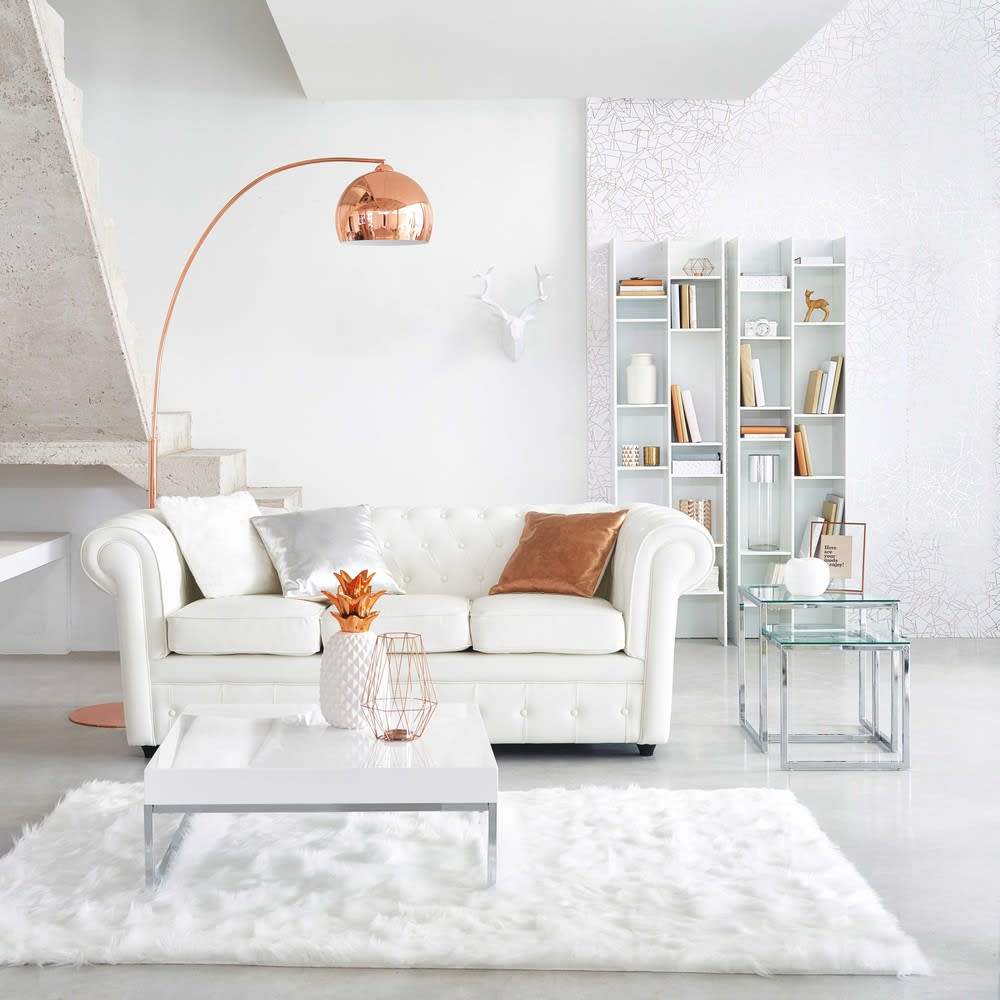 tables gigognes en verre et m tal lexington maisons du monde. Black Bedroom Furniture Sets. Home Design Ideas