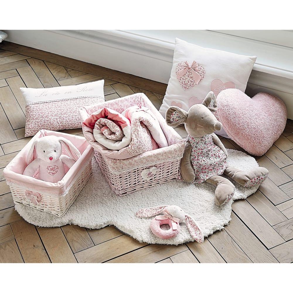 tapis poils courts cru l 100 cm nuage maisons du monde. Black Bedroom Furniture Sets. Home Design Ideas