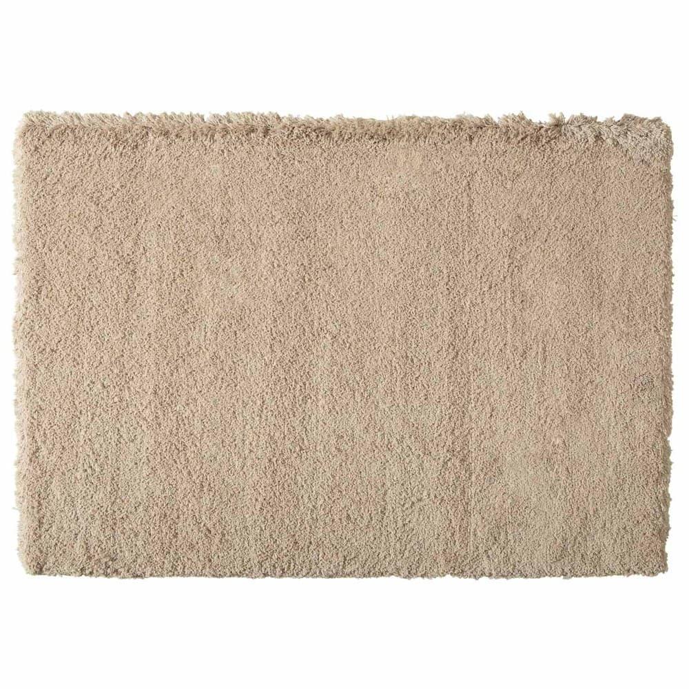 tapis poils longs beige 140x200 inuit maisons du monde. Black Bedroom Furniture Sets. Home Design Ideas