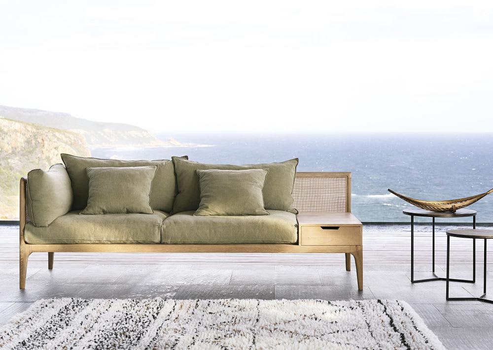 tapis berb re en laine et coton effet shaggy 140x200 land. Black Bedroom Furniture Sets. Home Design Ideas