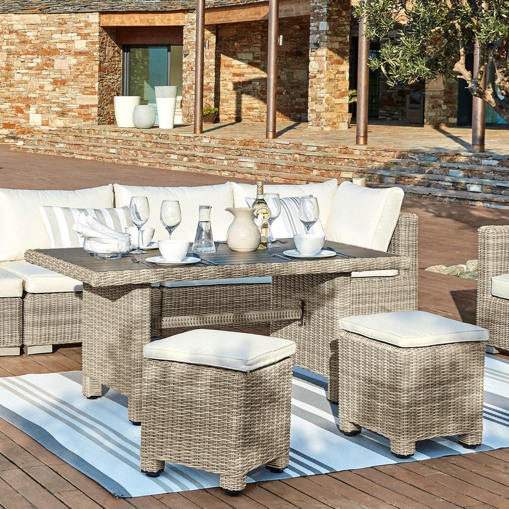 tapis d 39 ext rieur rayures en polypropyl ne bleu 120x180. Black Bedroom Furniture Sets. Home Design Ideas