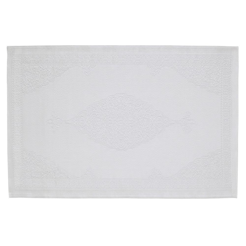 tapis d 39 ext rieur en polypropyl ne blanc 120x180 ibiza. Black Bedroom Furniture Sets. Home Design Ideas