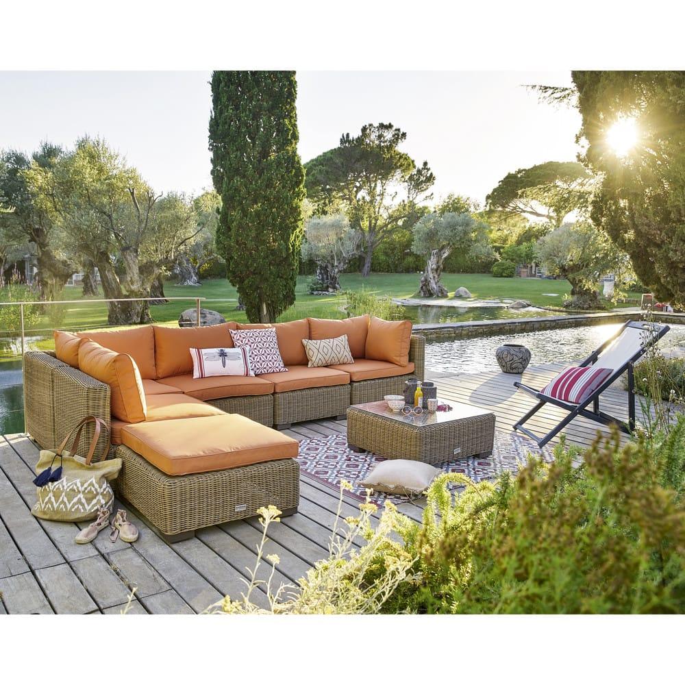 tapis de jardin motifs graphiques rouges et blancs 140x200. Black Bedroom Furniture Sets. Home Design Ideas