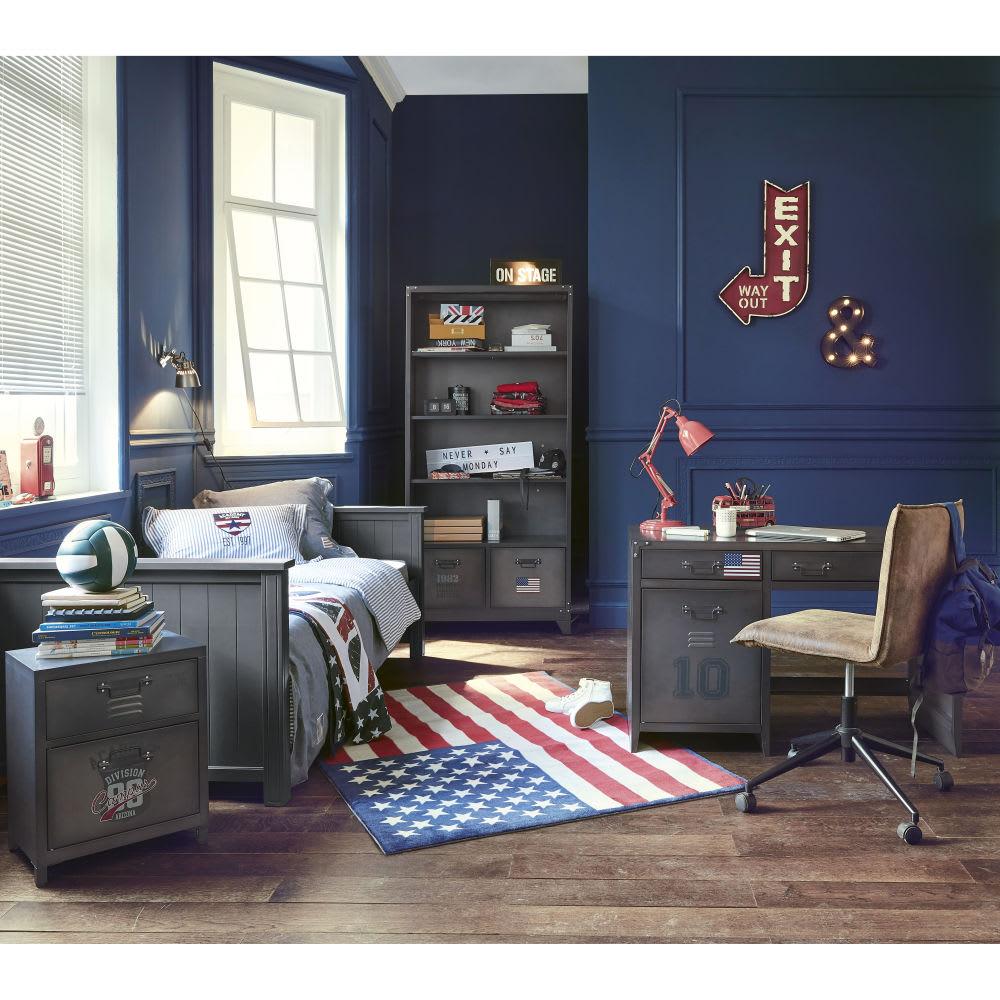 tapis drapeau 120 x 170 cm usa maisons du monde. Black Bedroom Furniture Sets. Home Design Ideas