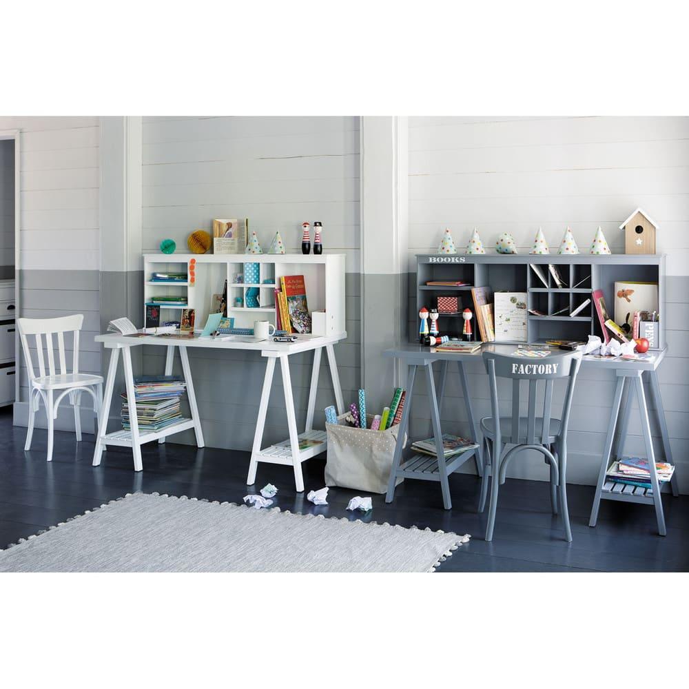 tapis en coton gris 80x200 pompon maisons du monde. Black Bedroom Furniture Sets. Home Design Ideas