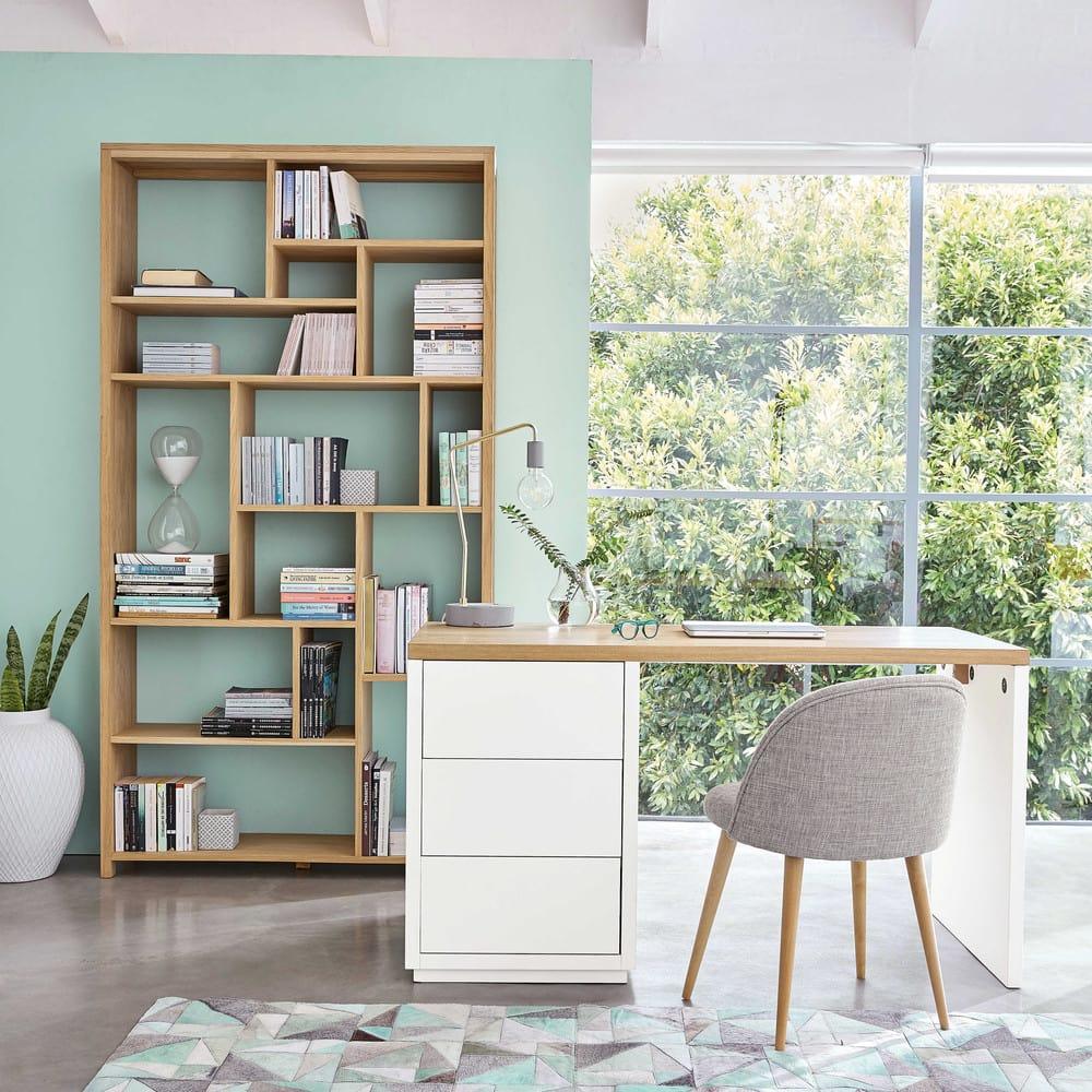 tapis en cuir 140 x 200 cm oscope maisons du monde. Black Bedroom Furniture Sets. Home Design Ideas
