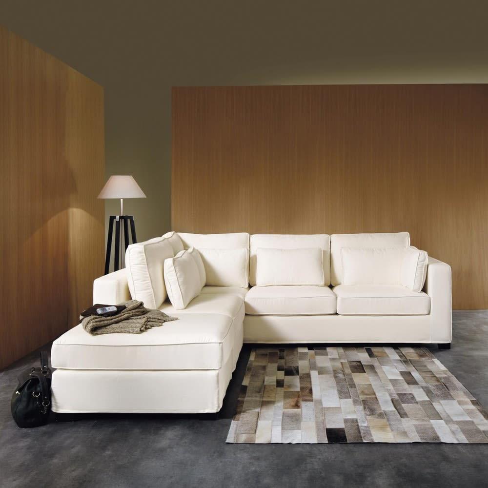 tapis en cuir 140x200 arty maisons du monde. Black Bedroom Furniture Sets. Home Design Ideas