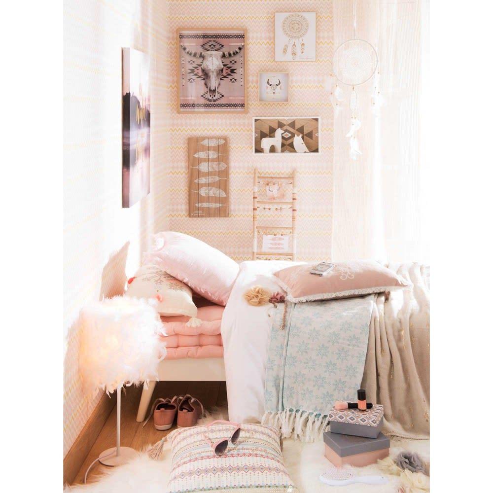 tapis en fausse fourrure blanc 60 x 100 cm eskimo. Black Bedroom Furniture Sets. Home Design Ideas