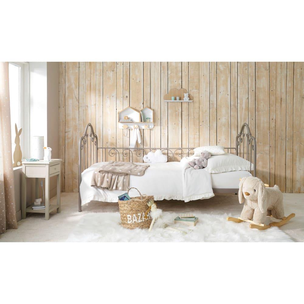 tapis en fausse fourrure crue 120x180 blush maisons du. Black Bedroom Furniture Sets. Home Design Ideas