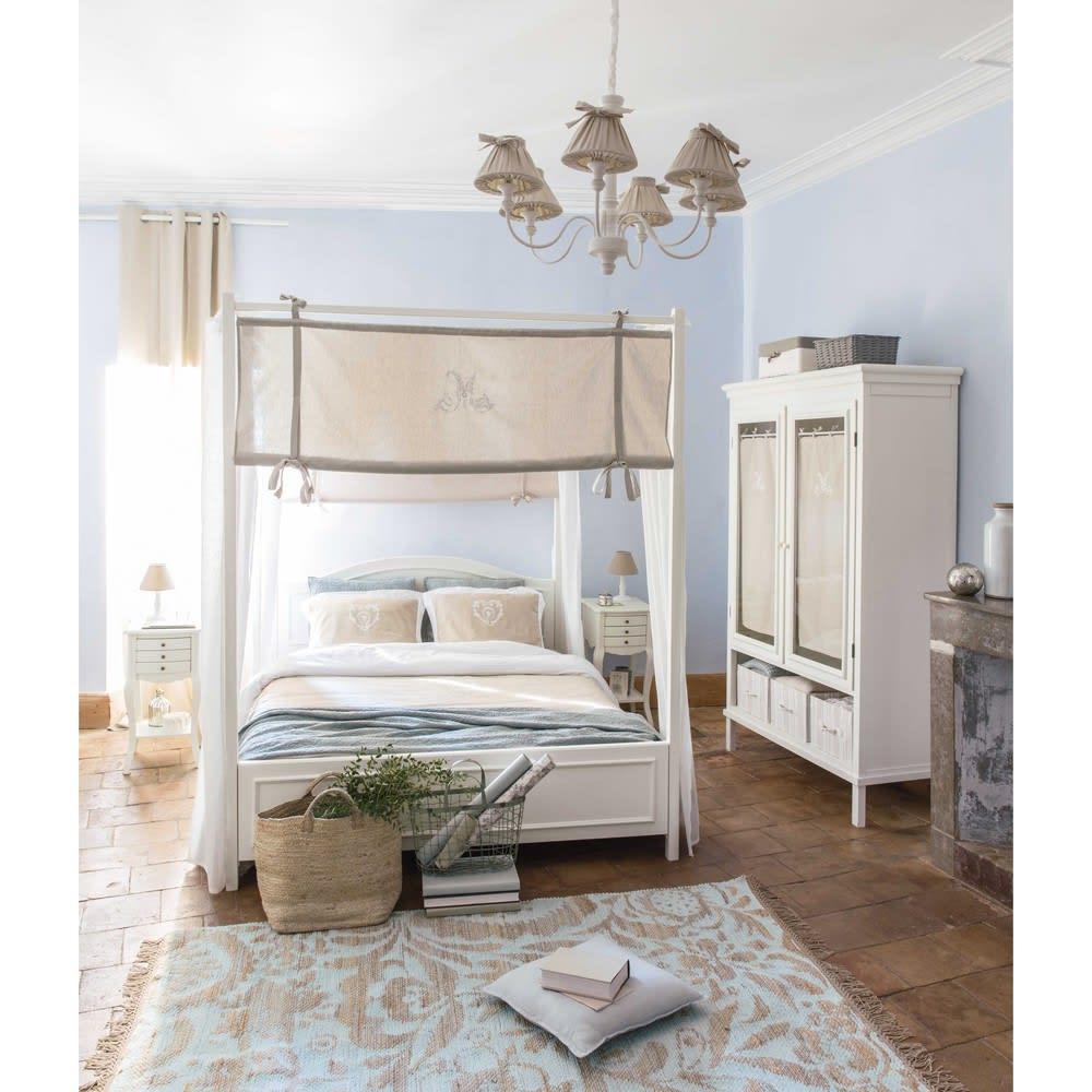 tapis en jute et coton vert d 39 eau 140x200cm lukila. Black Bedroom Furniture Sets. Home Design Ideas