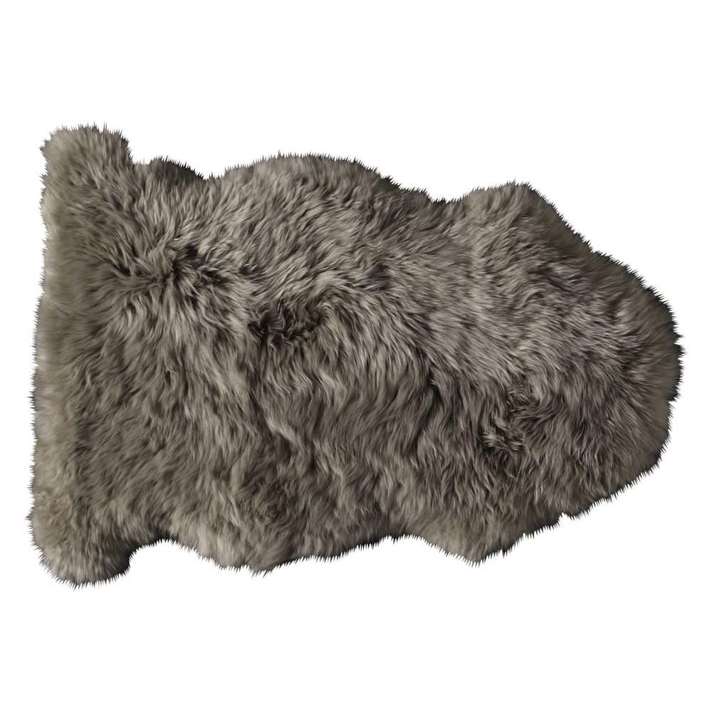 tapis en peau de mouton beige 55 x 90 cm maisons du monde. Black Bedroom Furniture Sets. Home Design Ideas