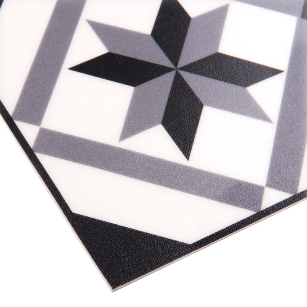 Tapis En Vinyle Motifs Carreaux De Ciment 50x80 Luso Maisons Du Monde