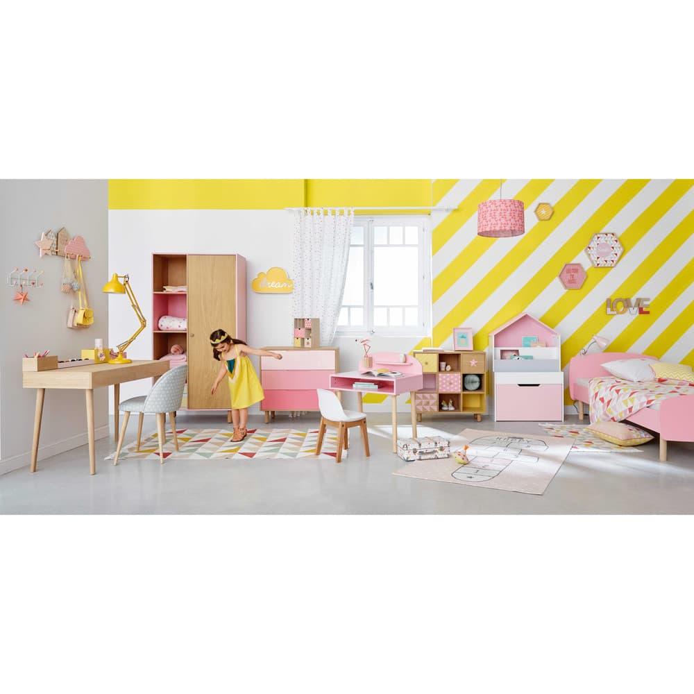 tapis enfant marelle en coton rose 120 x 180 cm happy maisons du monde. Black Bedroom Furniture Sets. Home Design Ideas
