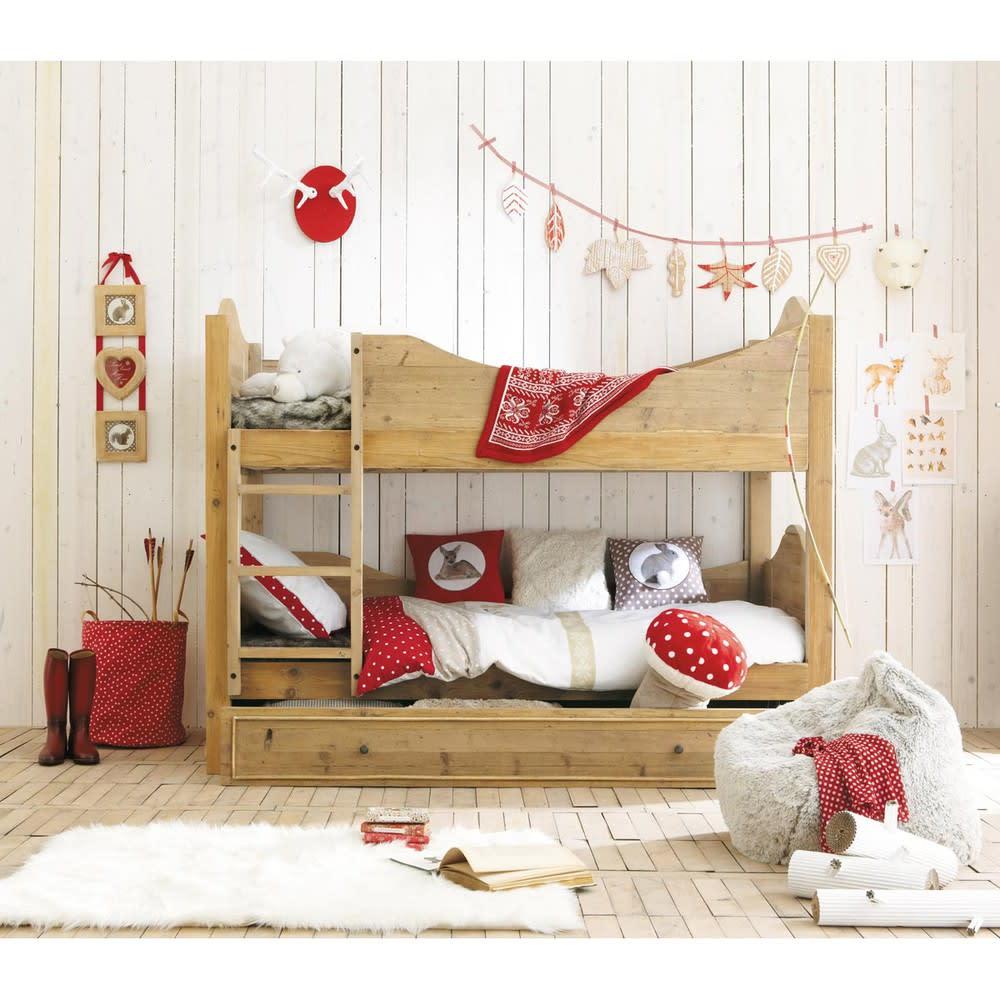 tapis imitation fourrure blanche 80x120 maisons du monde. Black Bedroom Furniture Sets. Home Design Ideas