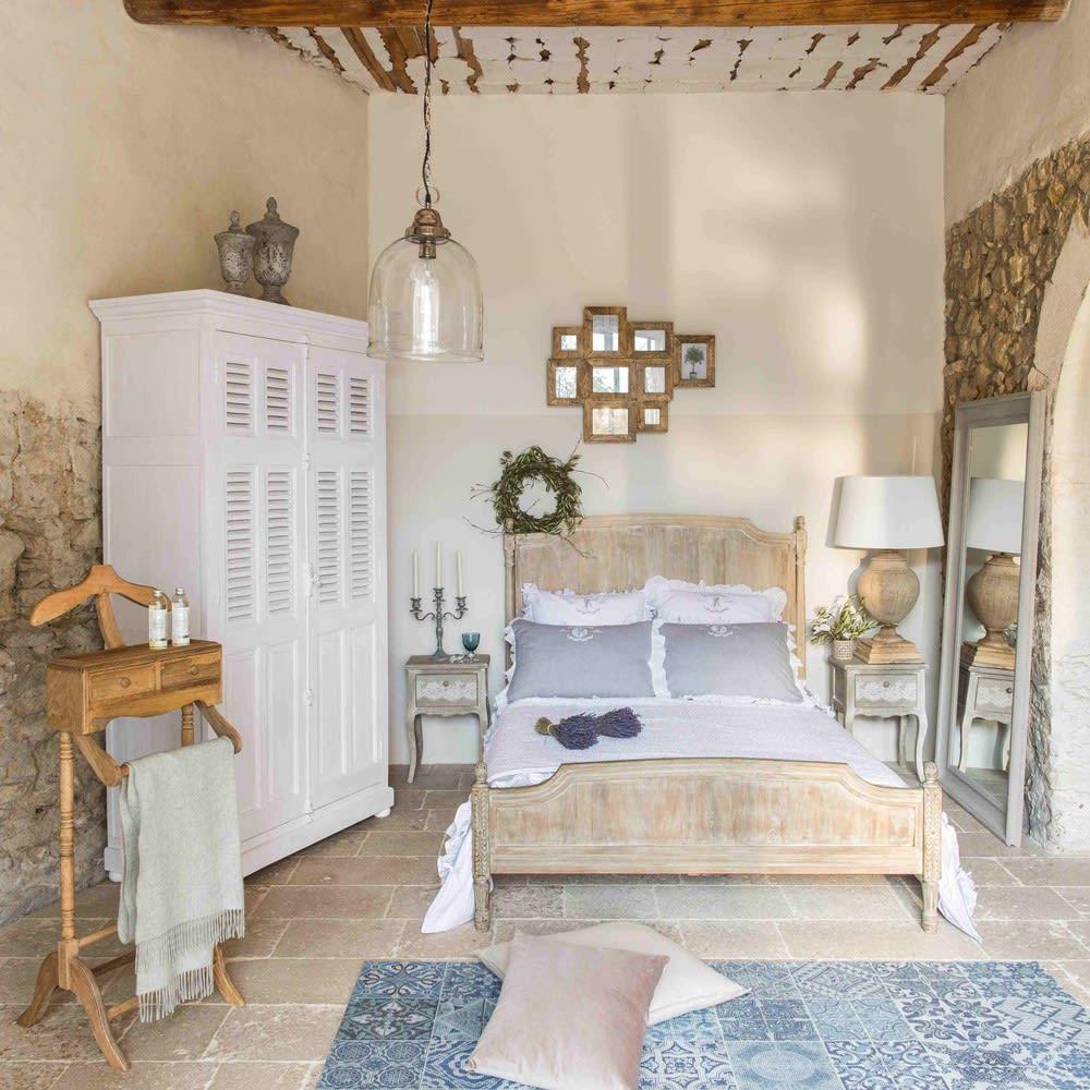 tapis motifs carreaux de ciment bleus 140x200cm capri. Black Bedroom Furniture Sets. Home Design Ideas