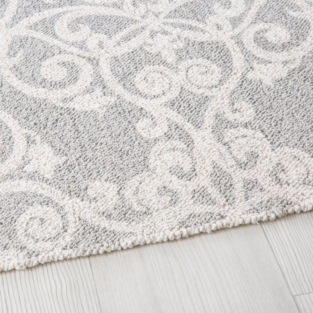 tapis tiss en coton motifs graphiques 140x200 melissandre maisons du monde. Black Bedroom Furniture Sets. Home Design Ideas
