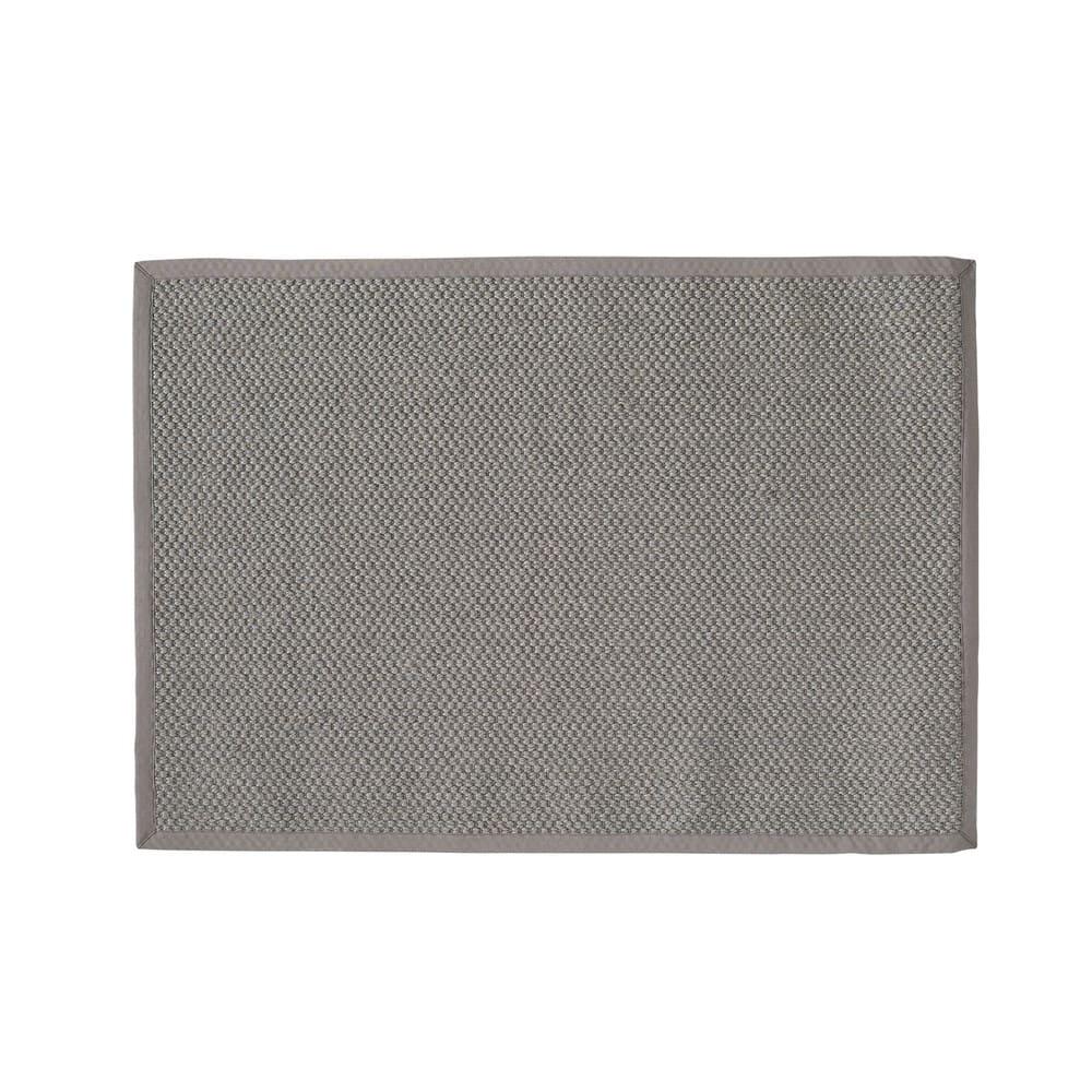 tapis tress en sisal gris 200x300cm bastide maisons du monde. Black Bedroom Furniture Sets. Home Design Ideas