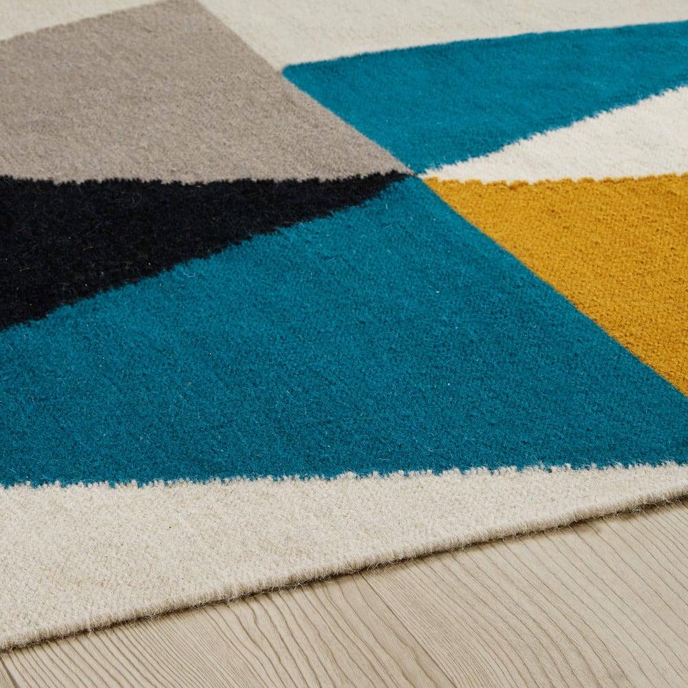 Tappeto in lana con motivi grafici 160x230cm Archi | Maisons du Monde