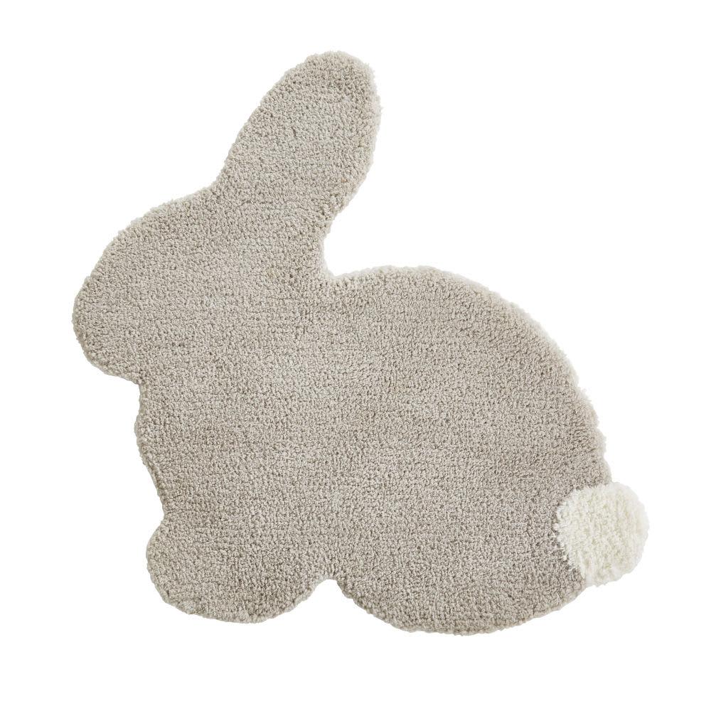 e0c779172c4 Taupe and Ecru Rabbit Rug 80 x 75 Saint Honore   Maisons du Monde