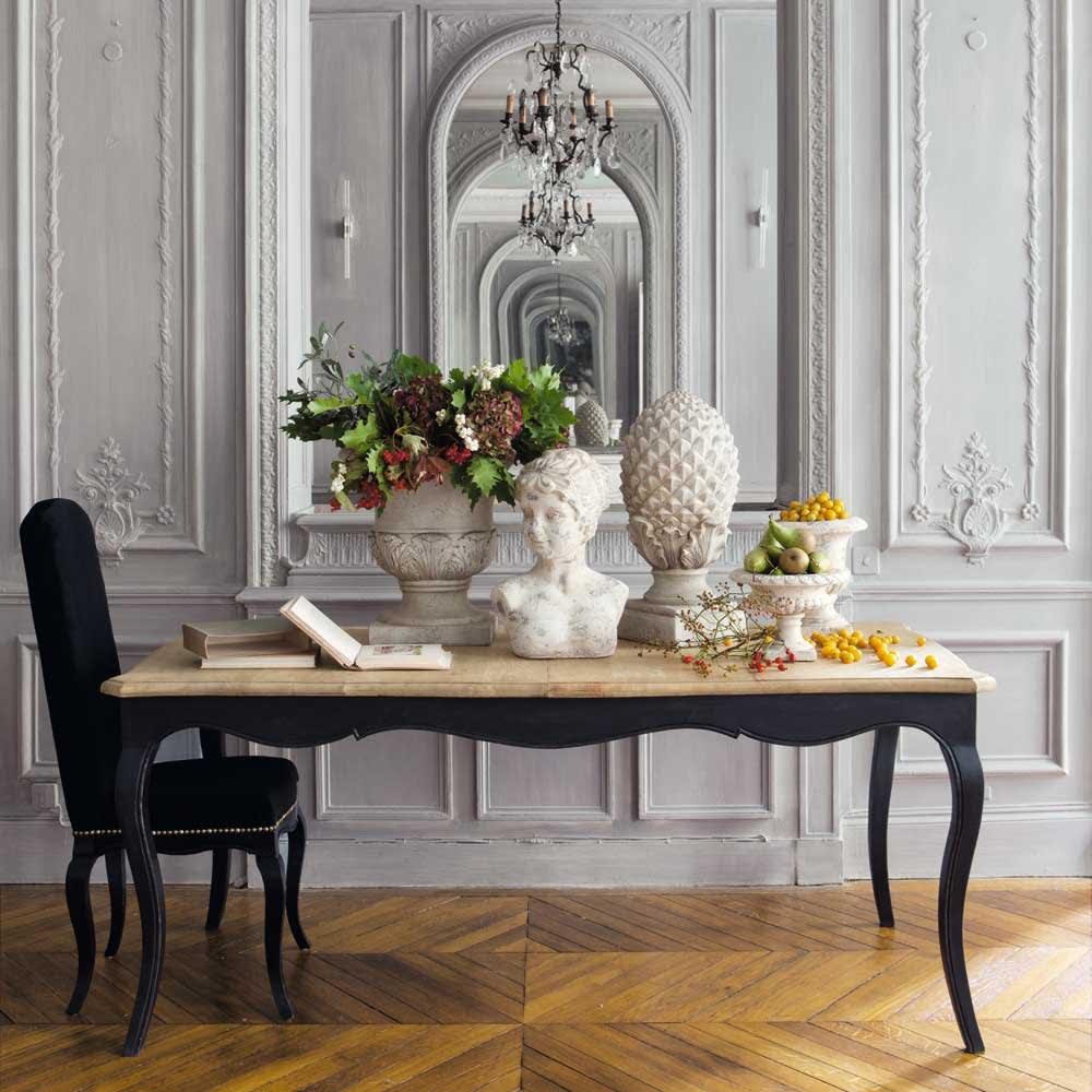 Tavolo allungabile per sala da pranzo in mango L 180 cm Versailles ...