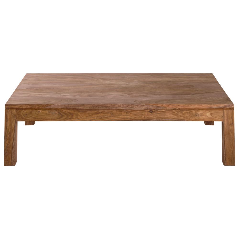 Tavolo basso in massello di legno di sheesham Stockholm | Maisons du ...