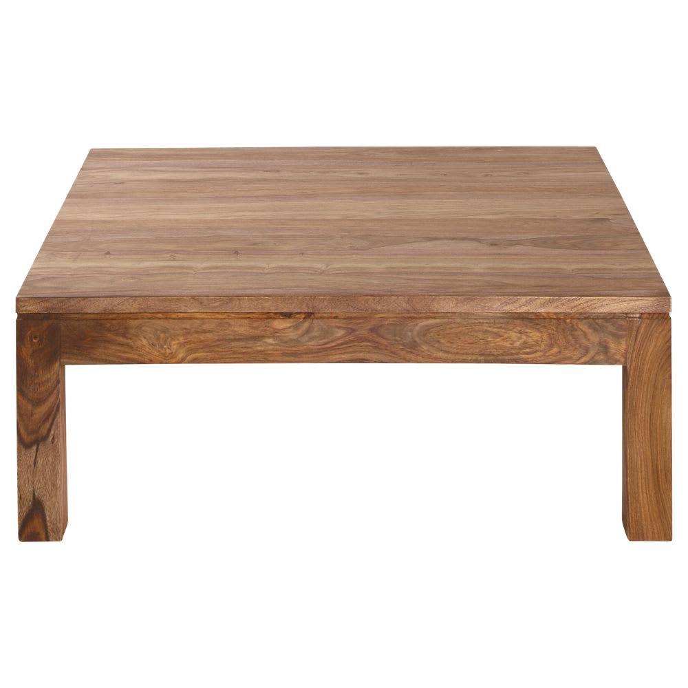 Tavolo basso in massello di legno di sheesham Stockholm   Maisons du ...