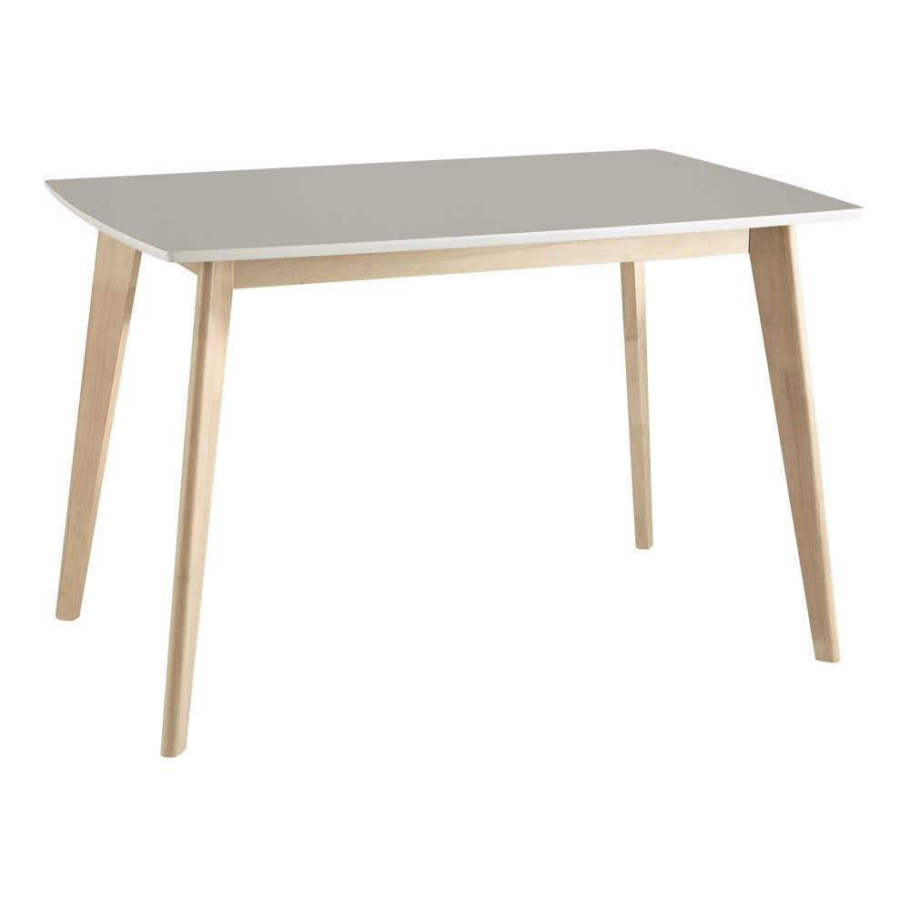 Tavolo bianco per sala da pranzo 4/6 persone 120 cm Mia ...