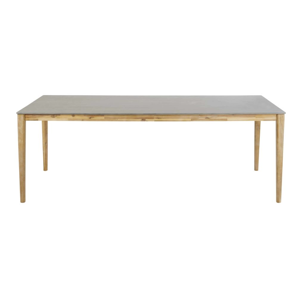 Tavolo da giardino in cemento 8 10 persone 220 cm null for Tavolo 10 persone