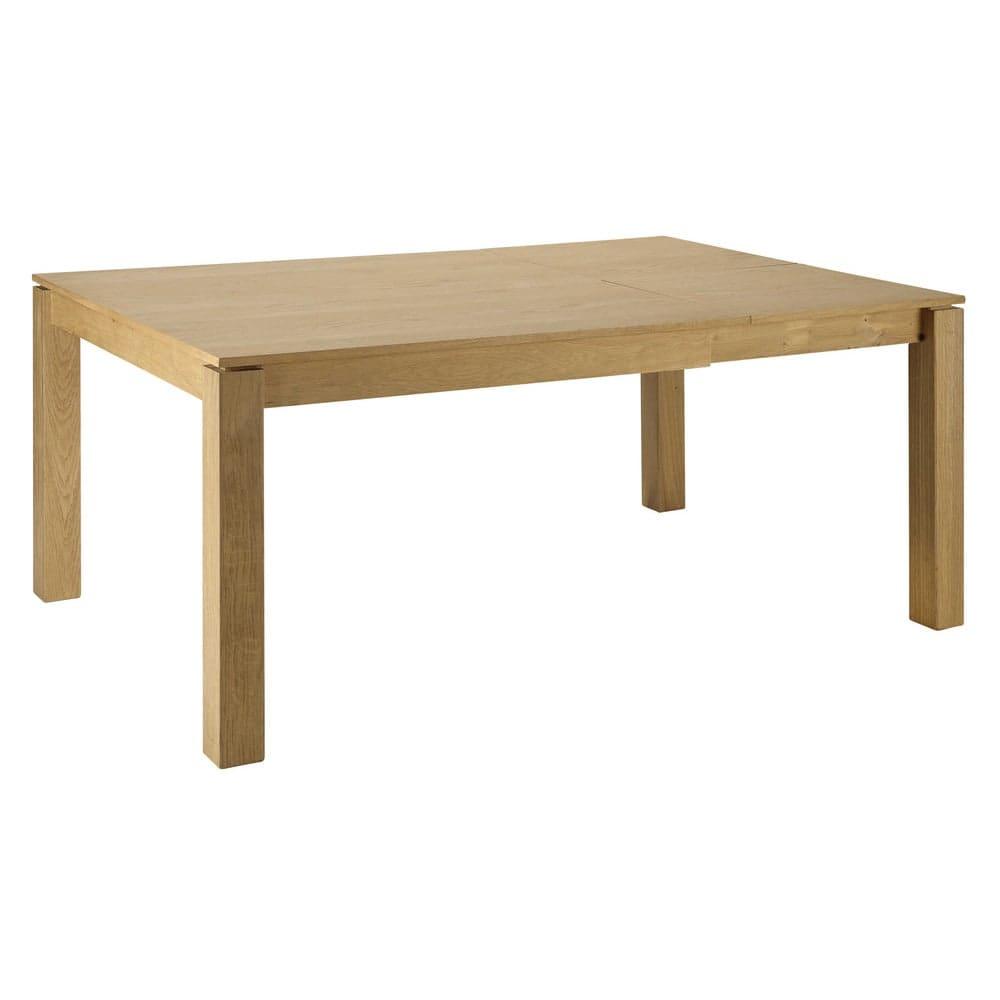 Tavolo da pranzo quadrato allungabile 4 a 8 persone di ...