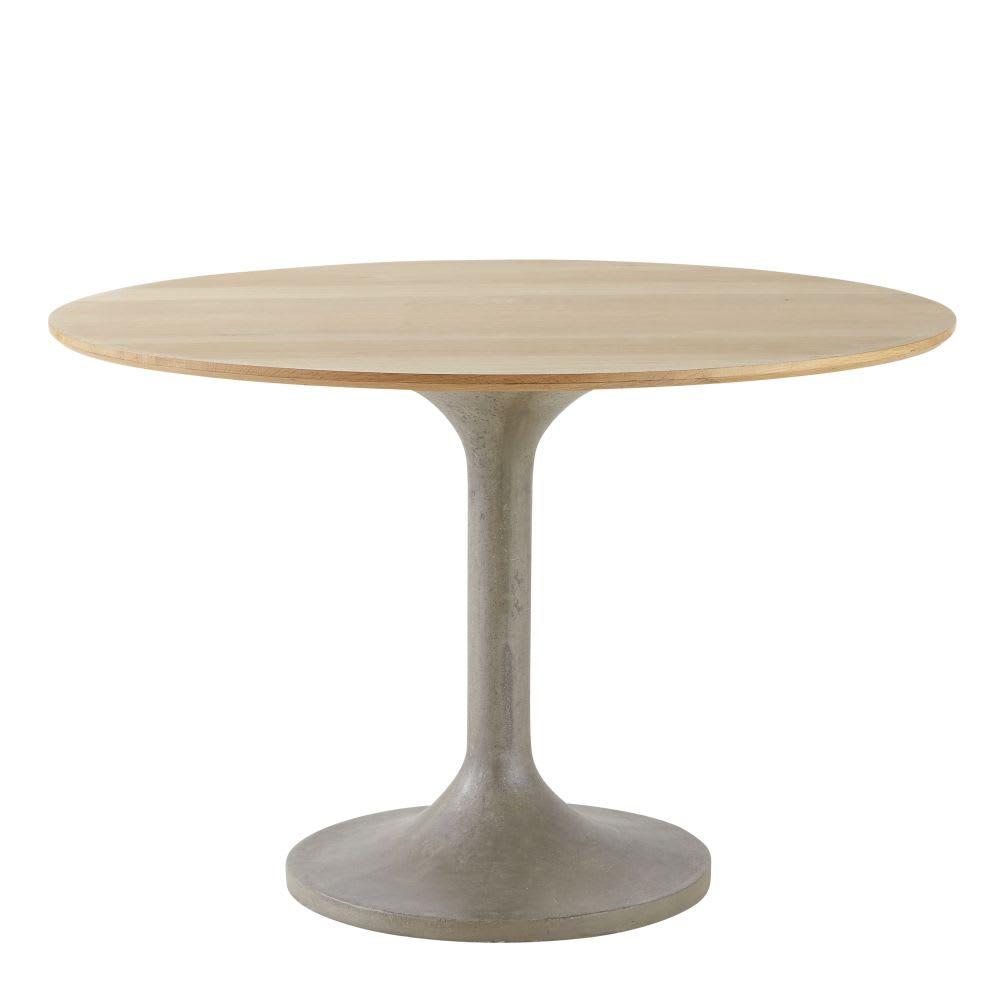Tavolo da pranzo rotondo 4/6 persone, 115 cm Andromède ...