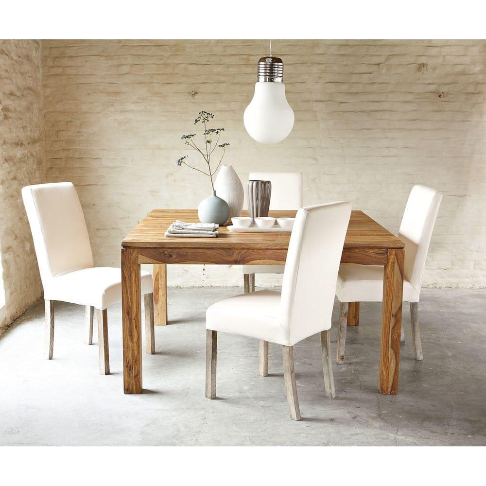 tavolo per sala da pranzo in massello di legno di sheesham. Black Bedroom Furniture Sets. Home Design Ideas