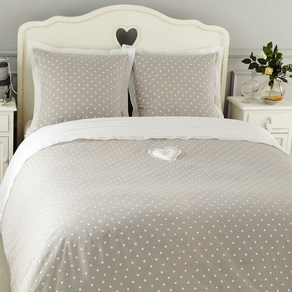 Testata da letto bianca in legno L 140 cm Valentine | Maisons du Monde