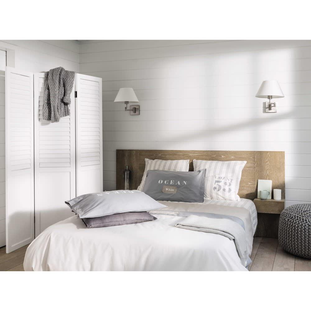 t te de lit 160 baltic maisons du monde. Black Bedroom Furniture Sets. Home Design Ideas