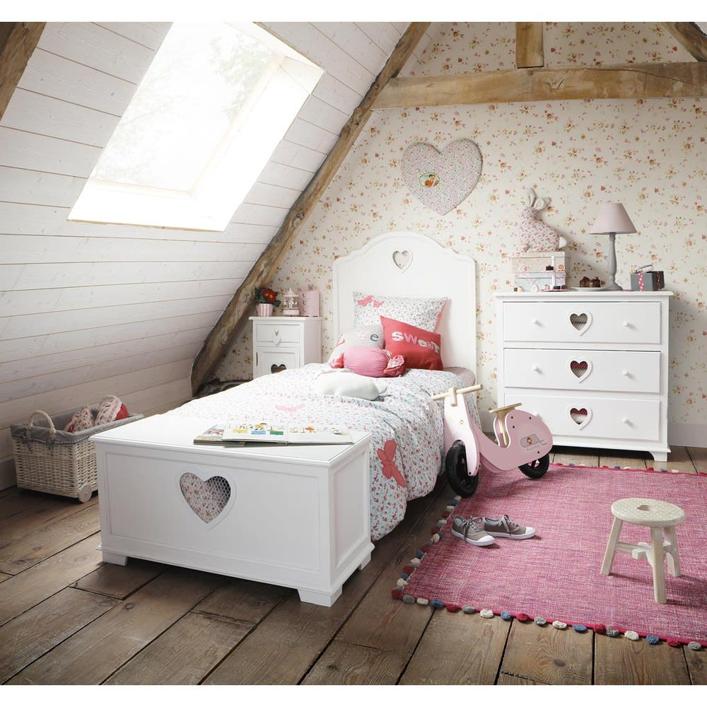 Tête de lit blanc L90