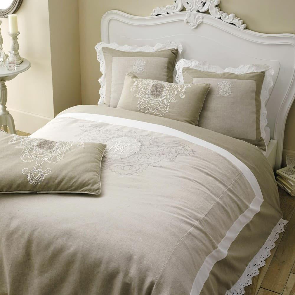 t te de lit blanche l160 comtesse maisons du monde. Black Bedroom Furniture Sets. Home Design Ideas